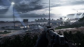 Epic Infiltration Mission from Online WW2 FPS Game Battlefield 5