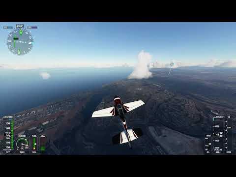 Microsoft Flight Simulator 2020 Flyby La Jolla to Oceanside San Diego area tour