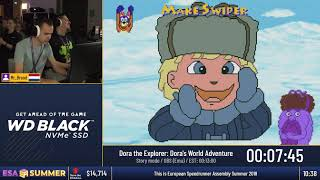 #ESASummer18 - Dora the Explorer: Dora's World Adventure [Story mode] by Mr_Brood