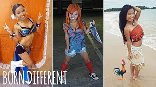 Cosplay Gives Little Woman Confidence | BORN DIFFERENT