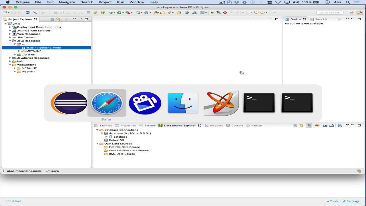 JPA: Datenbank-Tabellen wie Java Klassen benutzen - YouTube