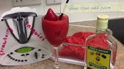 Strawberry Daiquiri in Thermomix