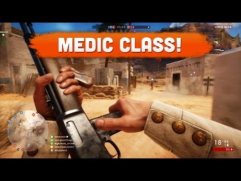 MEDIC CLASS! - Battlefield 1 (Multiplayer Beta Gameplay)