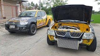 ไทรทันเหลือง-vs-สตาด้าปั้มสาย-กับงานไทเทเนียมล้ำๆ-จาก-assez-titanium-รถซิ่งไทยแลนด์