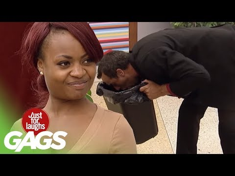 Kissing Your Girlfriend After Vomiting - Just For Laughs Gags