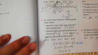 Problemler Test 1 Esen TYT Matematik Mavi Seri Açıklamalı Çözümleri