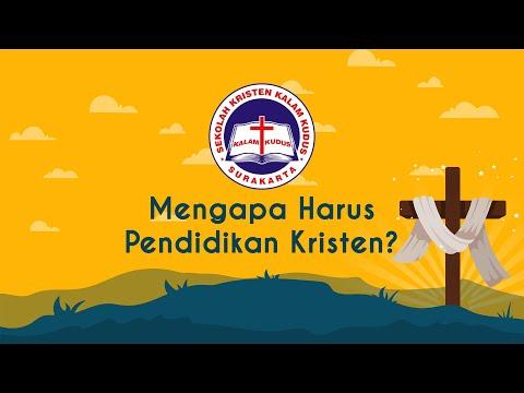 Mengapa Harus Pendidikan Kristen?