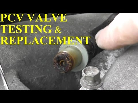 How to Test and Replace PCV Valve on your Vehicle
