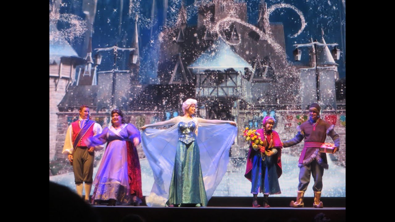 FULL SHOW For The First Time In Forever A Frozen Sing
