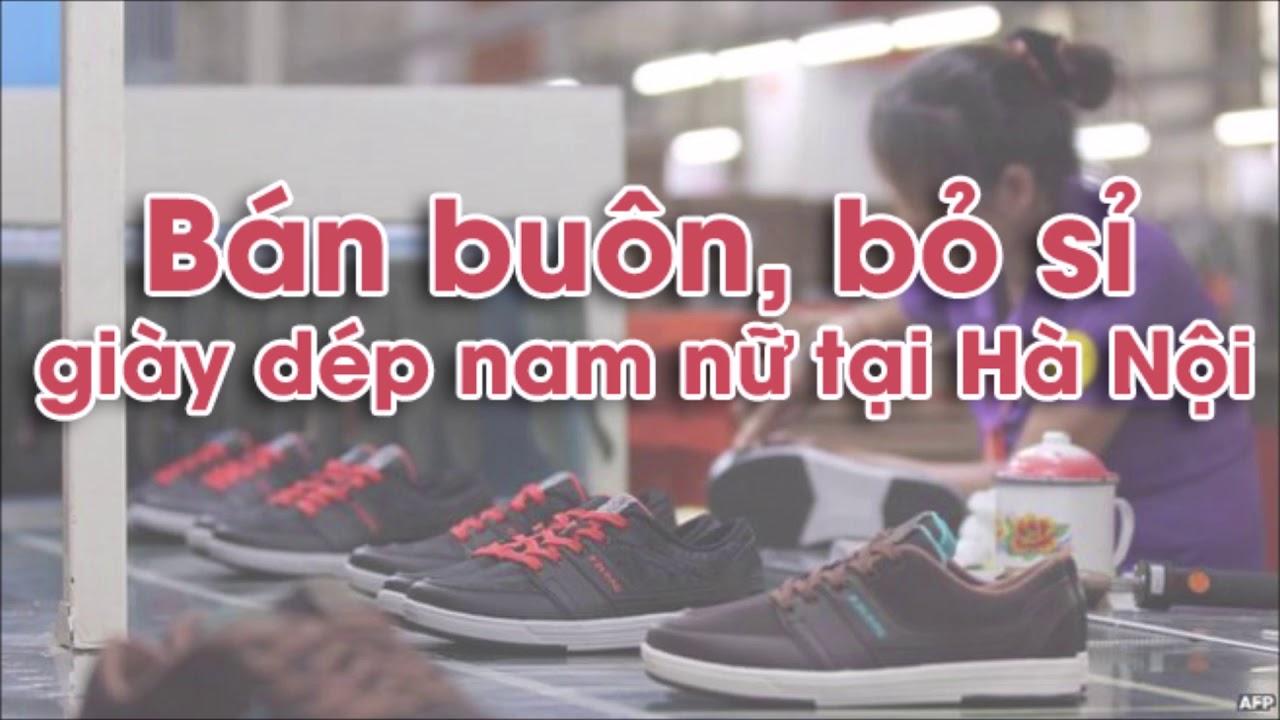 Bán buôn giày dép – Bán sỉ giày dép nam nữ