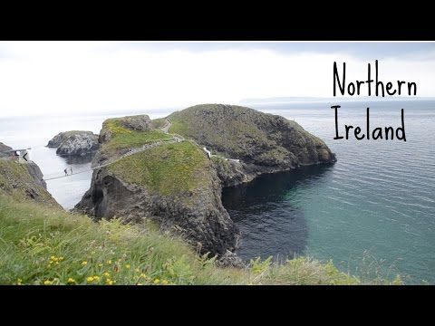 Northern Ireland Travel Vlog! Road Trip of Giant's Causeway, Carrick-a-Rede, Belfast | Ali Coultas