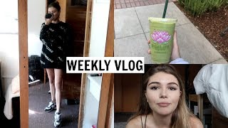 VLOG l getting fit in college, what I eat, etc. l Olivia Jade