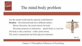 Philosophical Influences on Psychology - Ch 2 - History of Modern Psychology - Schultz & Schultz