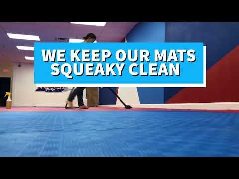 The SECRET to Having the Cleanest Mats - Premier Sport Taekwondo