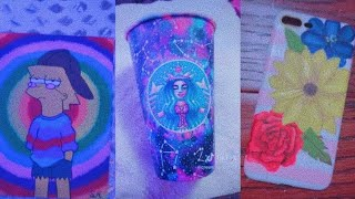 People Painting/Drawing on Stuff for 4 Minutes Straight | TikTok Art Compilation #7