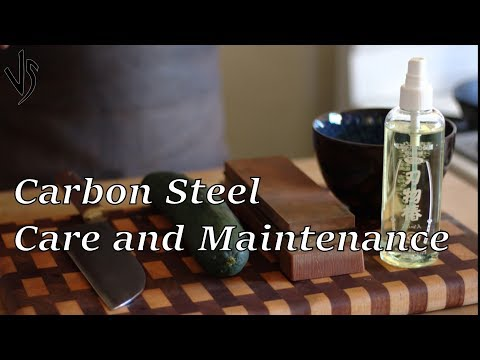 Carbon Steel - Care and Maintenance