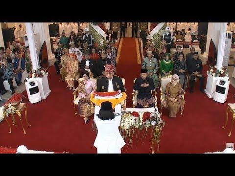 Upacara Penurunan Bendera HUT ke-72 Republik Indonesia