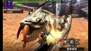 MHXX 闘技大会 ベリオロス ランスソロS 4'39 (Arena :Barioth : Lance) thumbnail