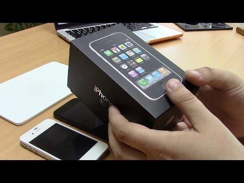 iPhone 3G unboxing & review   с чего начинала Apple