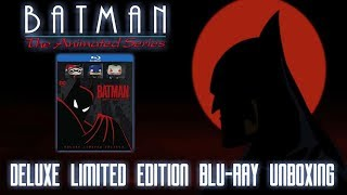 BATMAN: THE COMPLETE ANIMATED SERIES (DELUXE LIMITED EDITION) - BLURAY UNBOXING