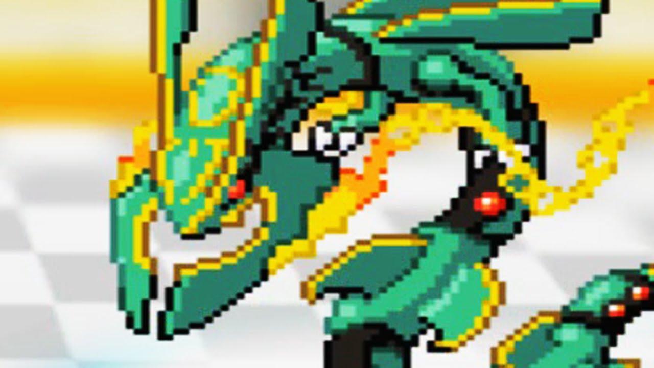 Pokemon insurgence let 39 s play walkthrough episode 13 - Lego pokemon rayquaza ...