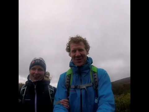 Bad Weather On The Tongariro Alpine Crossing