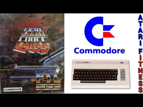 Light Force (Gameplay) C64