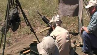 Shooting the Japanese T-92 HMG in Arizona