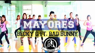 Mayores by Becky G ft. Bad Bunny | by zin James A. And ZNTeam x Dance Zpectrum