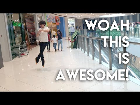TRYING INLINE SKATES FOR THE FIRST TIME! | Joel Minas