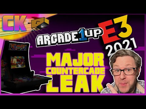 Arcade1Up E3 LEAKS - 2 Player CounterCades! from Console Kits