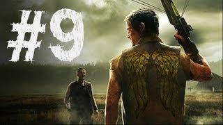 The Walking Dead Survival Instinct Gameplay Walkthrough Part 9 - Stop the Herd (Video Game)