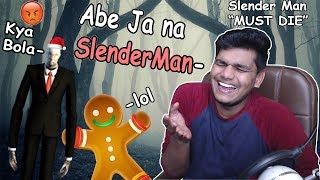 "Is Bhoot Se Kon Darega? 😂- SlenderMan ""Must Die"" Free Game Funny Moments (BeastBoyShub React)"