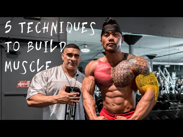 619 MUSCLE TV - 5 Intensifying Techniques to Build Maximum Muscle!  feat. IFBB Pro Jake Alvarez