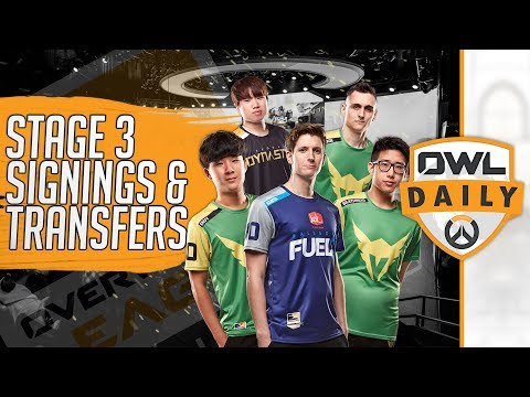 Stage 3 Transfers and Signings feat. Volamel & Yiska - Overwatch League Daily