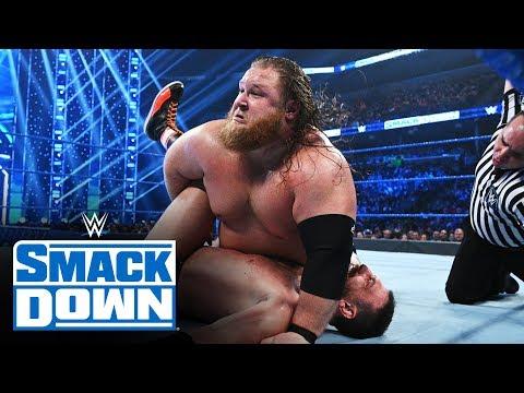 Otis Vs. Drew Gulak: SmackDown, Jan. 3, 2020