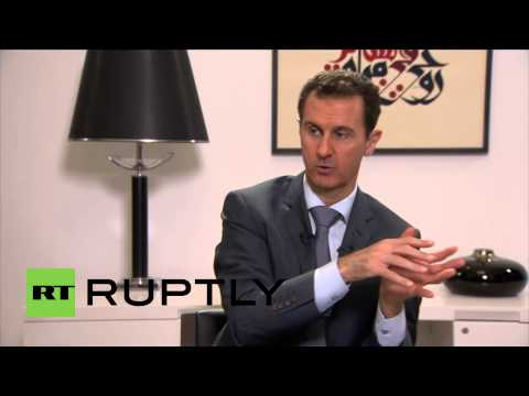 "Syria: Islamic State, associated groups are ""extremist products of the West"" - Assad"