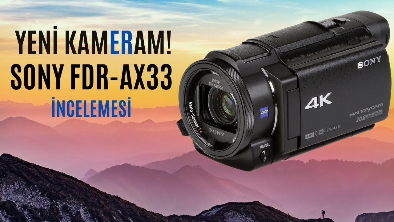 4K ya Geçiyoruz /Sony FDR AX 53 Kamera  #BöcekReis #Evdekal