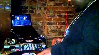 DJ C-Styles spinning at Cloud IX in Atlanta.