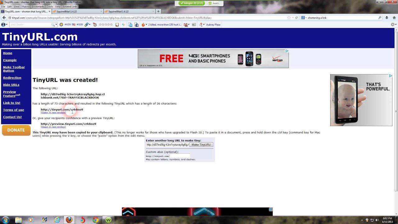 Shortening the link VKontakte