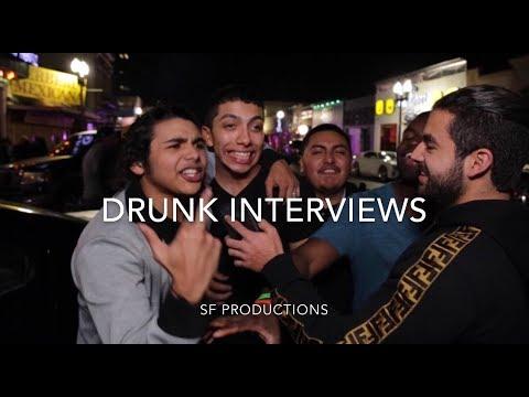 DRUNK INTERVIEWS (BORDER WALL?!)