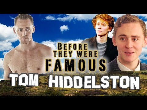 TOM HIDDELSTON - Before They Were Famous - LOKI