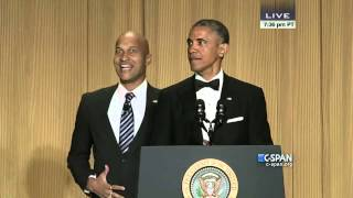 CLIP: President Obama and his anger translator at 2015 White House Correspondents' Dinner. Watch complete video here: http://cs.pn/1JFZuMo.