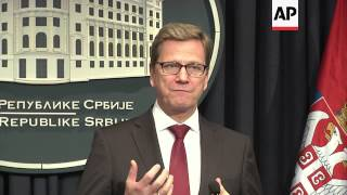 4:3 Westerwelle insists on implementation plan for Kosovo