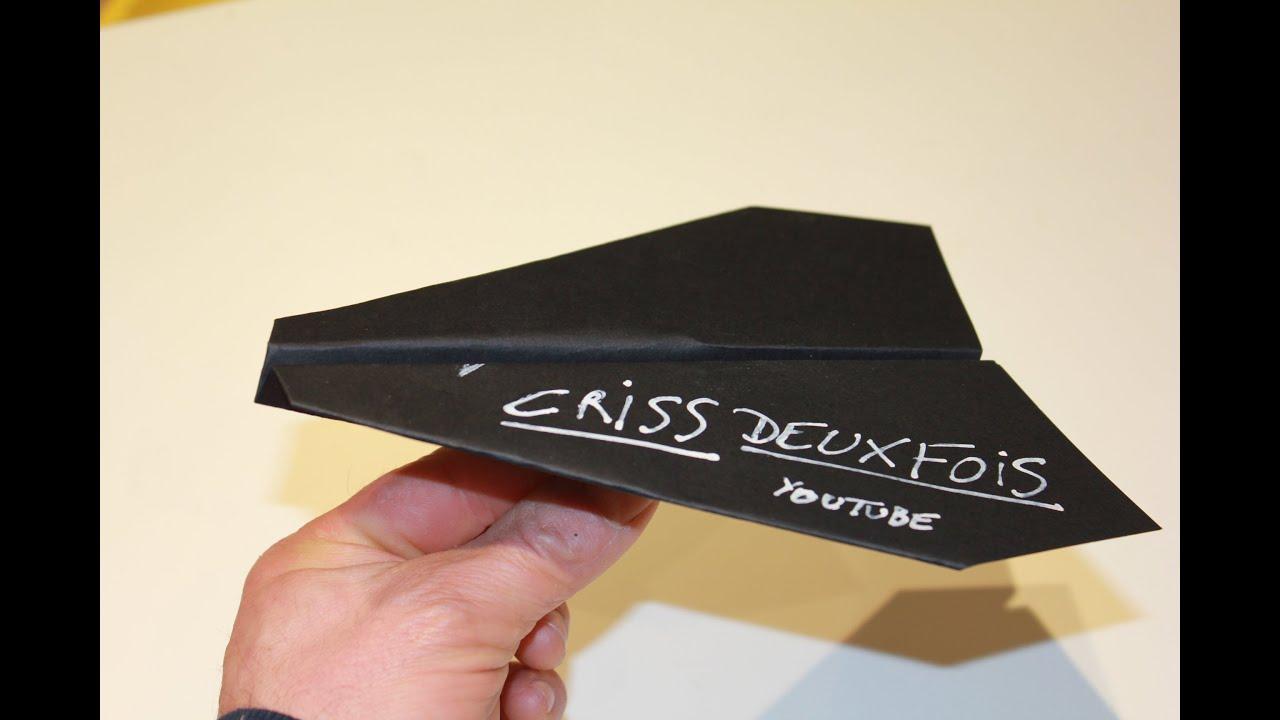 Pliage Avion En Papier Origami Version Simple Facile Airplane самолет Avião France