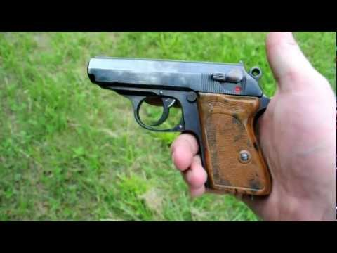 Shooting a 1933 Walther PPK in 32acp