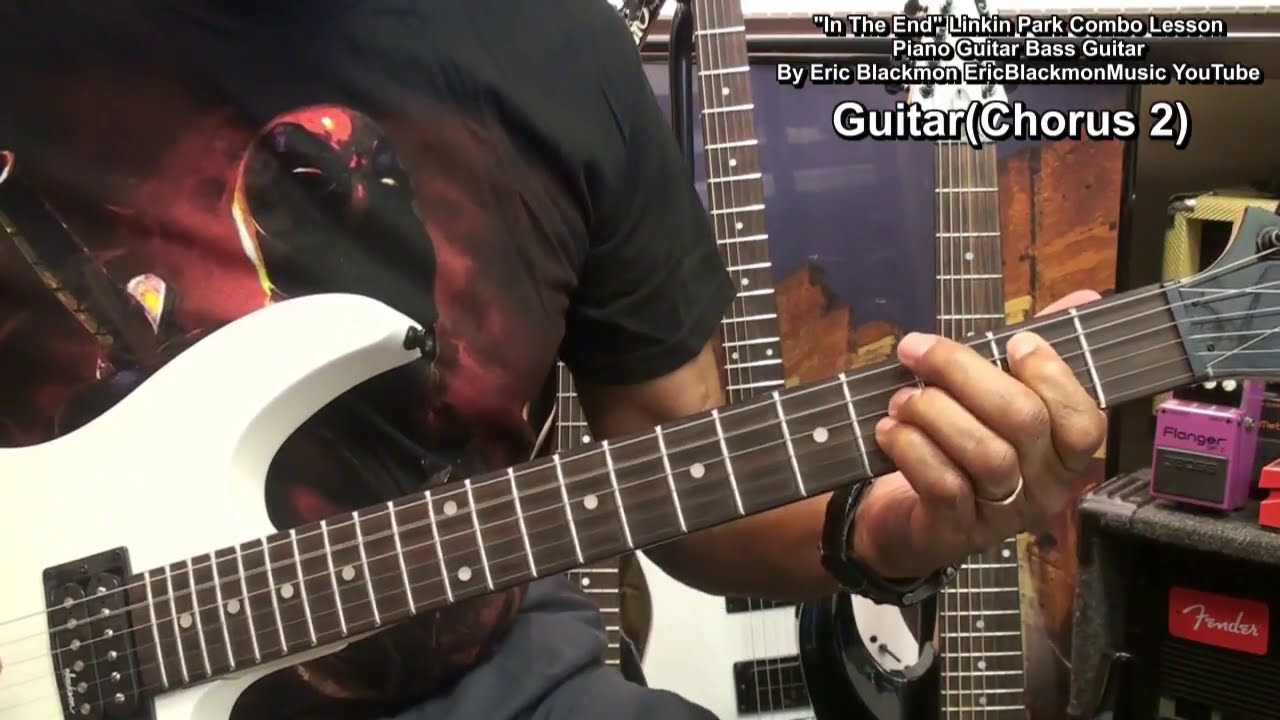 how to play the end on guitar