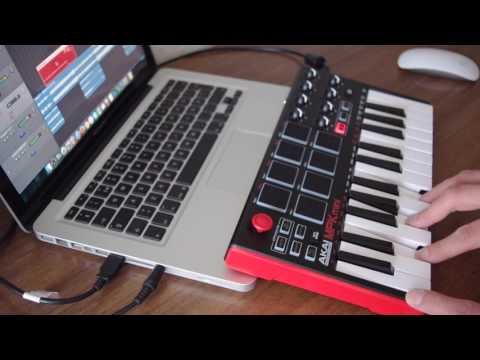Bring me the Horizon - Can you feel my heart (Synth part on MPK mini mk2)