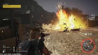 Tom Clancy's ghost recon wildlands [DJ PERICO] walkthrough.