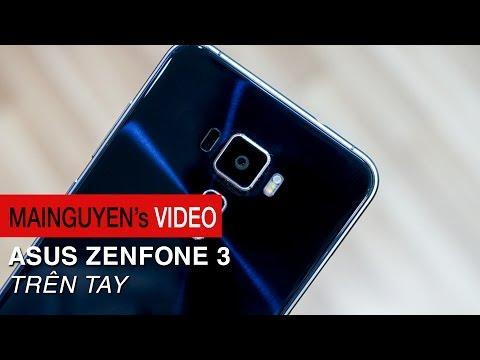 Trên tay ASUS Zenfone 3 - Thiết kế mới, cảm giác mới